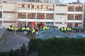 Amsterdam's protest camp eviction