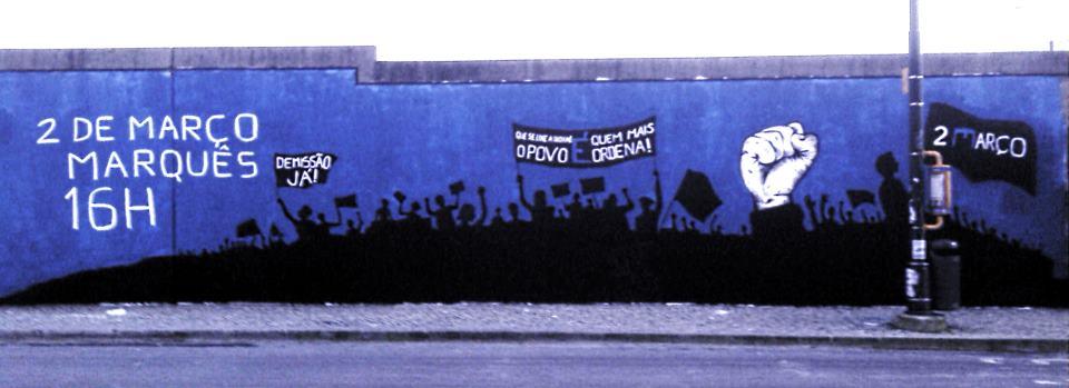 Grafitti 2 de marzo