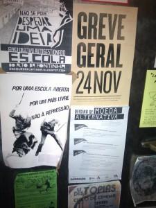 Mobilizaciones en Porto