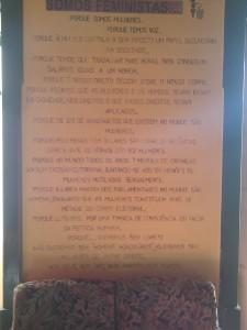 Manifiesto de Marias