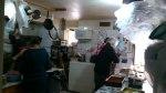 Cocina comunitaria en Kágados