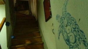 Escaleras en Kágados
