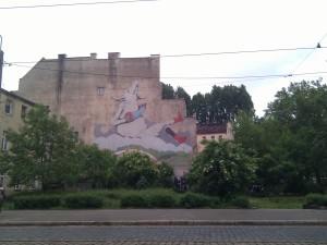 Street art en Wrocław