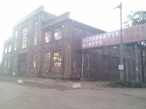Edificio en los astilleros
