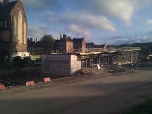 Autopista en construcción - Astilleros de Gdańsk