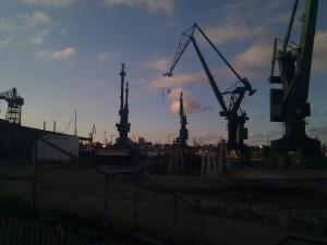 Grúas - Astilleros de Gdańsk