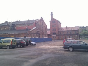 Histórica fábrica de Wodka en proceso de desaparecer