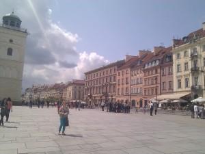 """""""Casco antiguo"""" reconstruido en Varsovia"""
