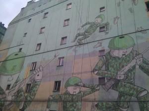 Street art en Varsovia
