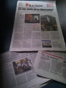 Artículos en la prensa sobre el squat