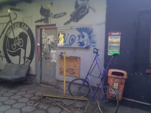 Taller de bicicletas en Rozbrat